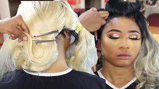 BRIDAL HAIR AND MAKEUP TRANSFORMATION #1