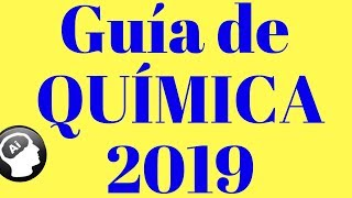Guía de Quimica, UNAM 2019, ÁREA 2