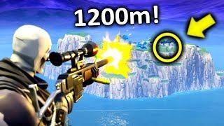 so i sniped a guy stuck on spawn island.. (fortnite)