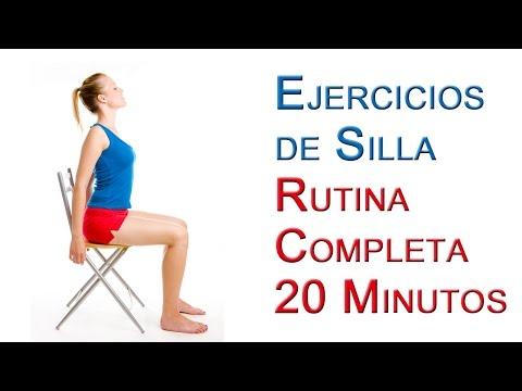 Rutina De Ejercicios De Silla Básicos 20 Minutos