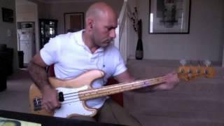 Dangerous   David Guetta (Bass Cover) 75 Fender P Bass.