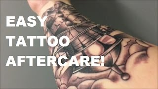 Easy Tattoo Aftercare