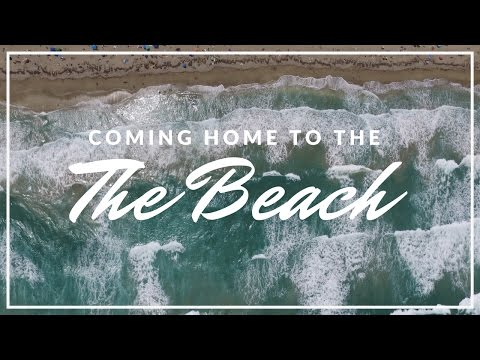 I LIVE ON THE BEACH!