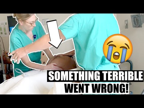 SOMETHING TERRIBLE WENT WRONG DURING DELIVERY + BABY FACE REVEAL!