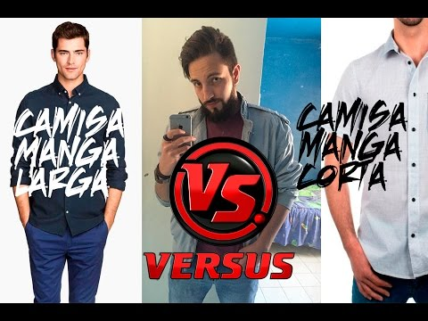 Camisa manga larga VS Camisa manga corta | JR Style For Men