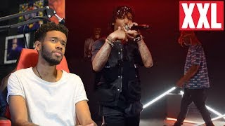 J.I.D & Ski Mask The Slump God Cypher REACTIONREVIEW