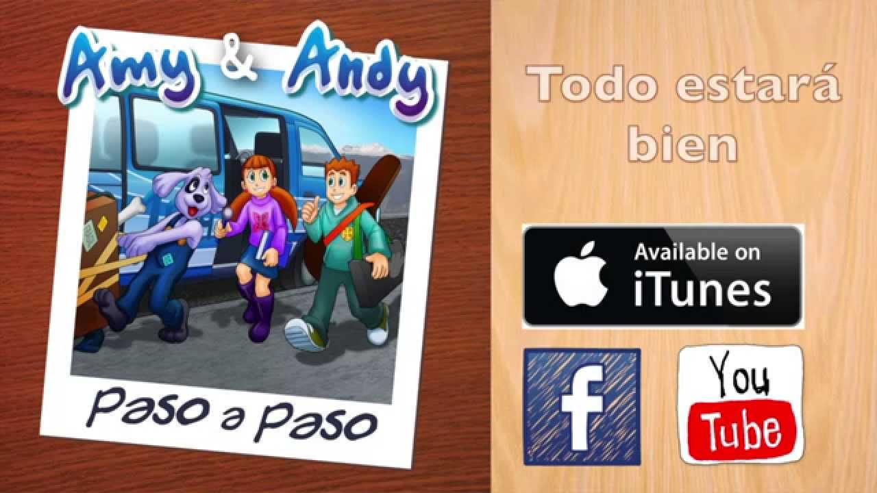 Cd Completo Paso a Paso  Amy y Andy. Ministerio Infantil, Canciones infantiles