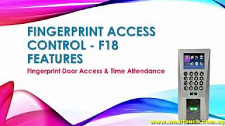intelligent security products time attendance manual - Kênh video