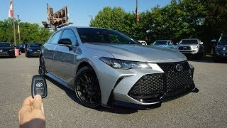 2020 Toyota Avalon TRD: Start Up, Exhaust, Test Drive and Review