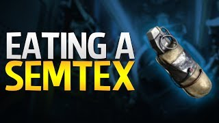 Eating a Semtex