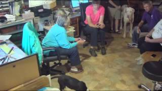 SDP 8/18/15 NEAL'S ARRIVAL AT SERVICE DOG PROJECT - WELCOME!