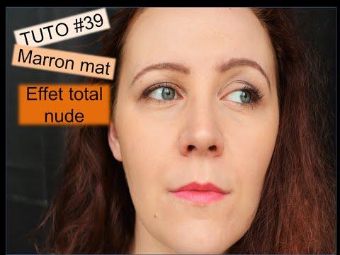 [TUTO] #39 chocolat mat effet total nude