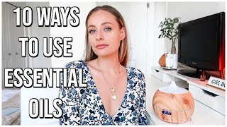10 UNIQUE WAYS TO USE ESSENTIAL OILS | Manifesting, Visualizing, Aromatherapy | Renee Amberg