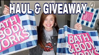 HUGE Bath And Body Works Haul & GIVEAWAY | Semi-Annual Sale Summer 2020