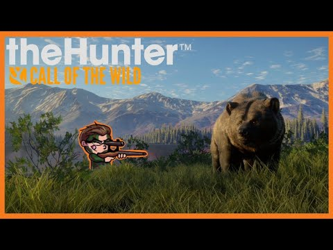 Hunter Gets Jumped by Grizzly Bear! (theHunter Call of The Wild Yukon Valley)