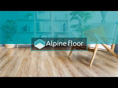 Видео товара Кварцвиниловая ПВХ плитка Alpine Floor Ultra ЕСО 5-18 Дуб лесной