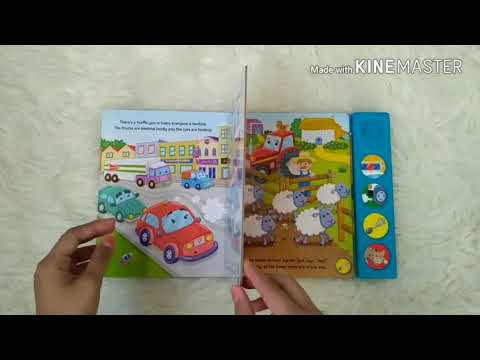 Police Car Saves The Day Sound Board Book With 4 Fun Sounds!