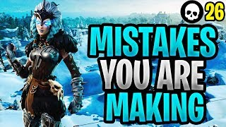 Mistakes That You