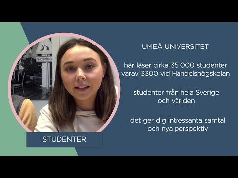 Film: Handelshögskolan vid Umeå universitet
