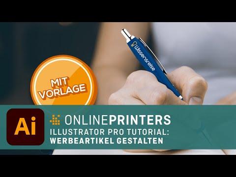 So kommt das Logo auf Kugelschreiber und Co. – Werbeartikel richtig gestalten