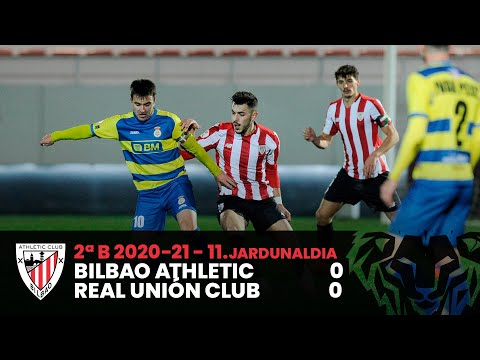 ⚽ Resumen I J11 2ªDiv B I Bilbao Athletic 0-0 Real Unión Club I Laburpena