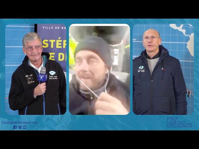 Vendée Globe : rediffusion du 9e live du 9 janvier 2021 avec Stéphane Le Diraison