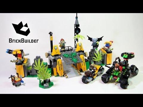 Vidéo LEGO Chima 70134 : La base Lion des Terres Lointaines