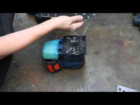 Bosch GSS 18 V-LI und die Möglichkeiten