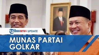 Munas X Partai Golkar, Jokowi Ajak Tepuk Tangan untuk Bambang Soesatyo