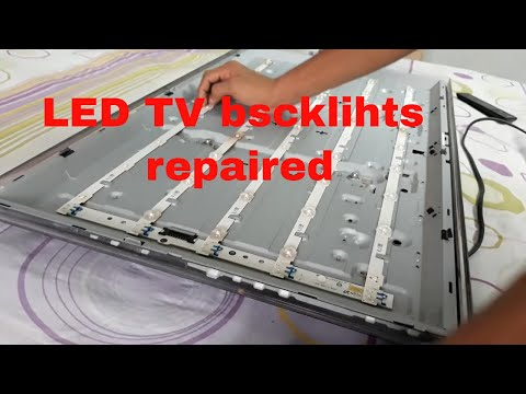 Solution] Samsung LED TV backlight fix | TV has sound but no picture