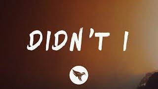 OneRepublic - Didn't I (Lyrics)
