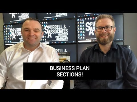 Edmonton Business Consultant | Business Plan Sections