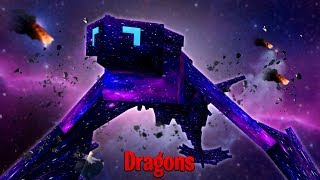 THE GALAXY DRAGON SAVES OUR LIVES! - Minecraft Dragons