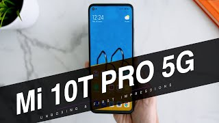 Xiaomi Mi 10T Pro 5G Unboxing & First Impressions: Best Value Smartphone?