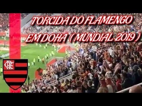 """""""TORCIDA DO FLAMENGO EM DOHA ( MUNDIAL CATAR 2019 )"""" Barra: Nação 12 • Club: Flamengo"""