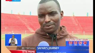 Safari's Journey: Daniel Safari eyes the top