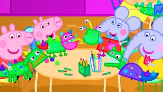 Peppa Pig Official Channel | Making Dragons with Peppa Pig
