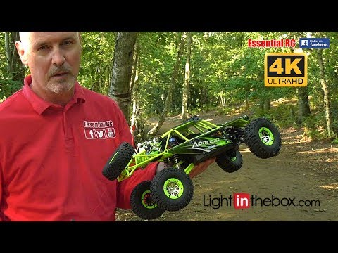 WLToys Wild Truck Warrior *CRAWLER/ALL TERRAIN TRUCK*: ESSENTIAL RC DRIVE TEST [*UltraHD And 4K*]