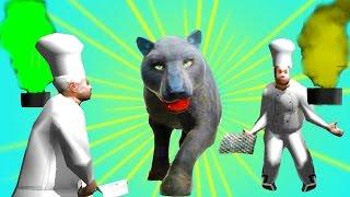 СИМУЛЯТОР КОТА 🐱🐱🐱 #19 ПАНТЕРА мульт-игра про котят развлекательное видео