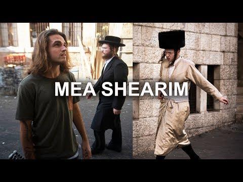 La Vida En El Barrio Judío Ortodoxo En Jerusalén