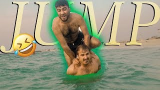 TRY NOT TO LAUGH FUNNIEST FAIL STUNT IN WATER
