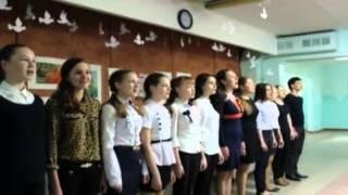 Флэшмоб «День Победы» Школа 118 г. Барнаул