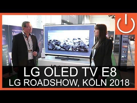 LG OLED55E8 - Roadshow - Thomas Electronic Online Shop - OLED65E8