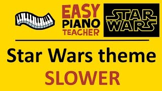 star wars theme piano sheet music easy - TH-Clip