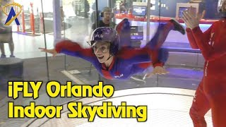 iFLY Orlando Indoor Skydiving on International Drive