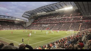 Jamie Carragher speaks about the new KSS-designed Main Stand at Anfield Stadium