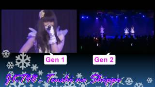 JKT48 - Tenshi No Shippo (2 Different Audio - Left And Right)