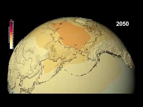 Watch NASA's Predictions About Climate Change For The Next 87 Years