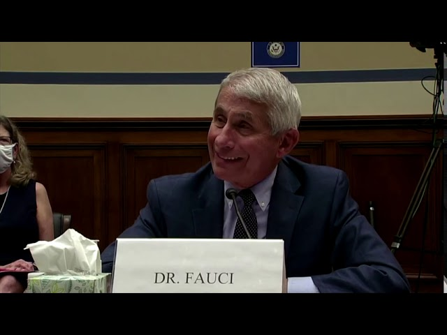 Fauci 'Optimistic' for vaccine by end of year into 2021