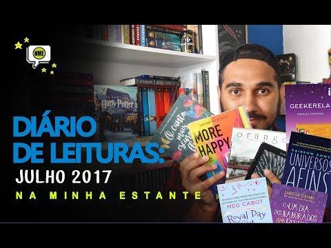 Diário de Leituras: Julho 2017 | Na Minha Estante